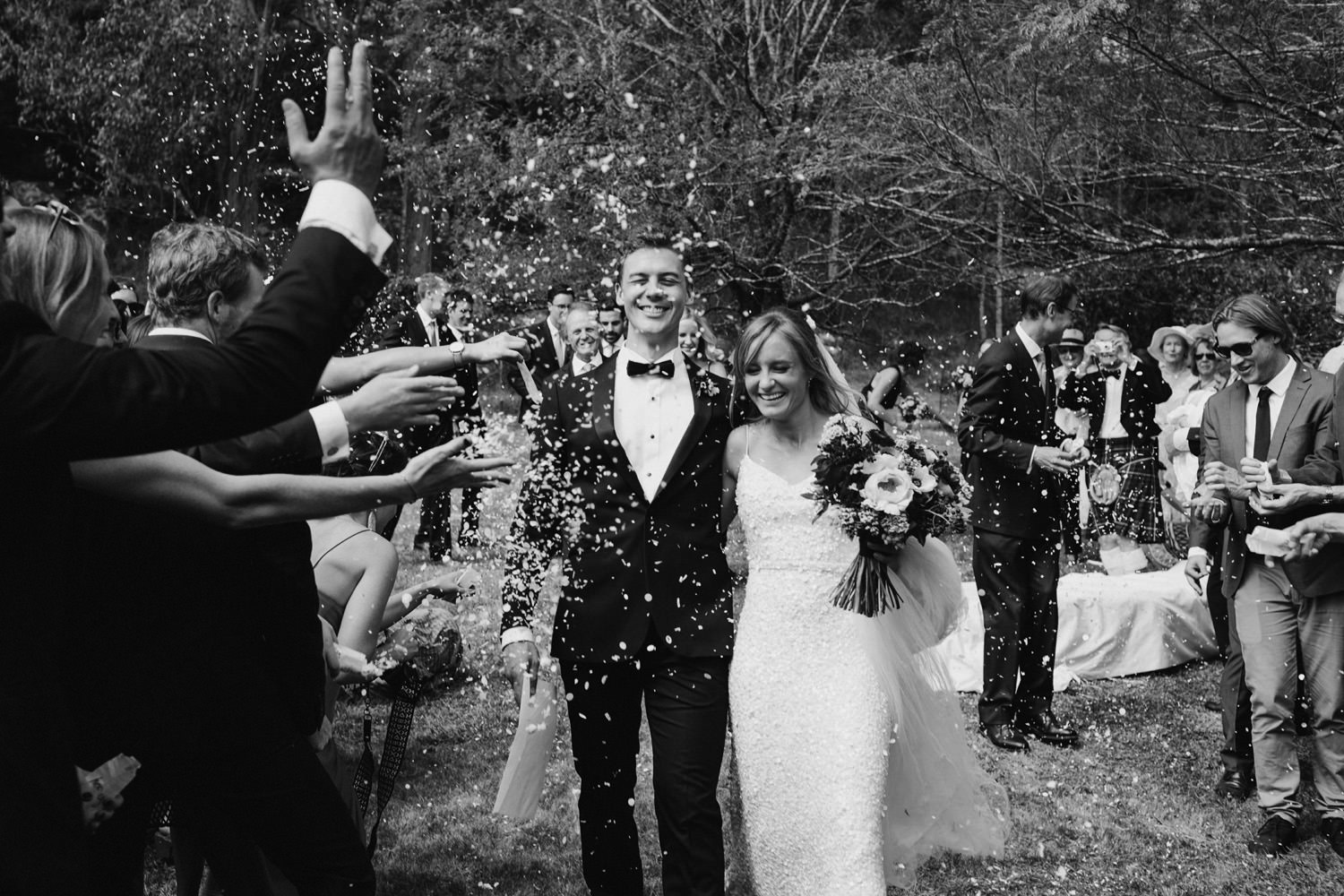 Ceremony at Valleyfields Wollombi Farm Wedding