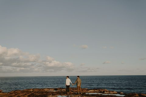 Vicky + Jeff // Loved Up at The Royal National Park